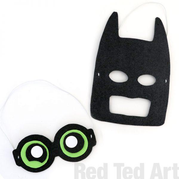 The LEGO Batman Movie - Batman Mask DIY (8)