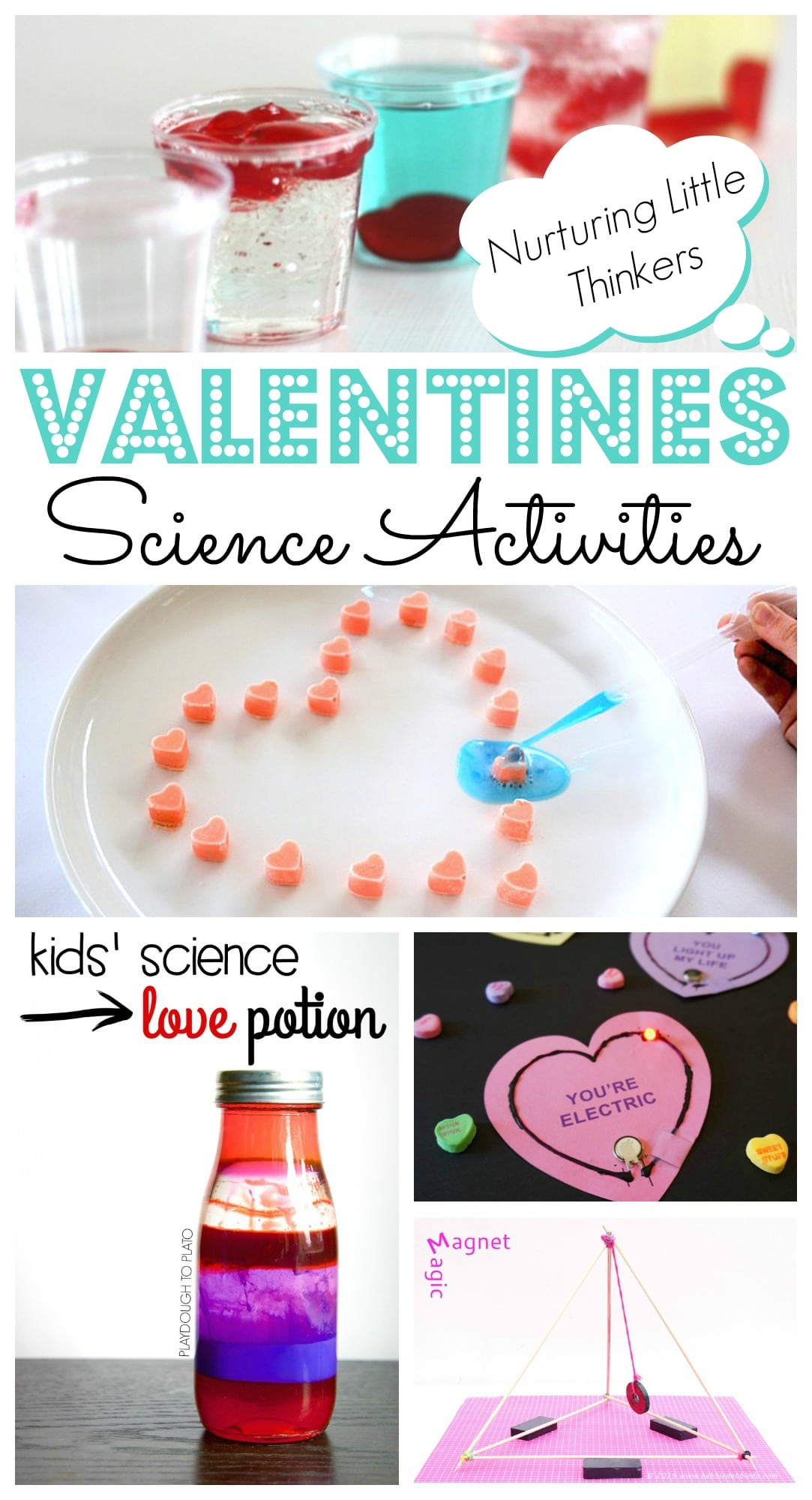 Easy Valentines Day Science Projects Red Ted Art S Blog