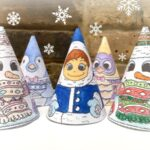 3D Christmas Coloring – 3D Snowman & Friends