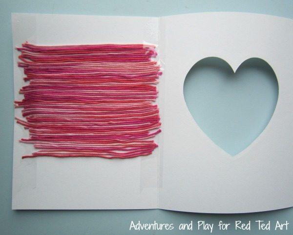 yarn-striped-heart