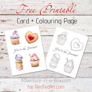 you-are-the-sweetest-free-printable-watercolour-card-fb