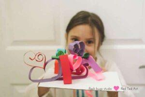 heart-sculptures-paper-crafts