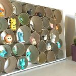 Toilet Paper Roll DIY Trinket Display