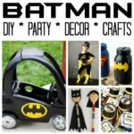 Easy Batman DIY Ideas