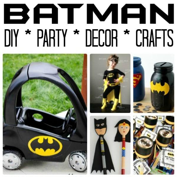 easy batman diy ideas red ted art s blog