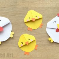 Easter Chick Bookmark Designs