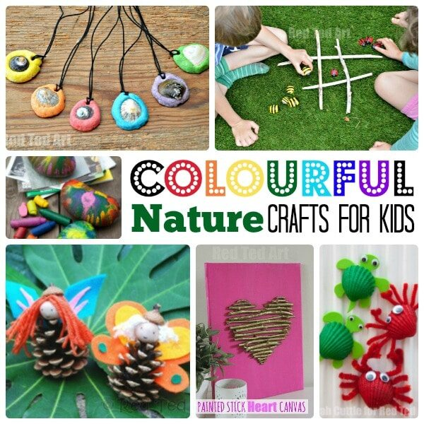 Colourful Nature Craft Ideas for kids