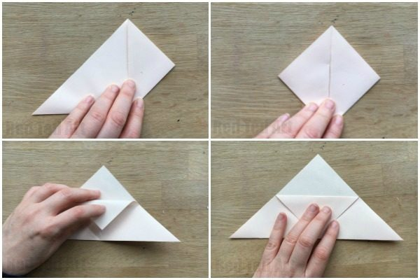 How to make an origami bookmark corner red ted art 39 s blog How to make a simple bookmark