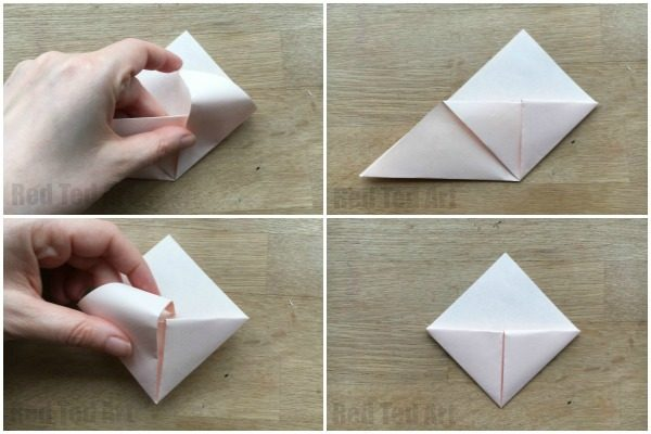 How To Make An Origami Bookmark Corner