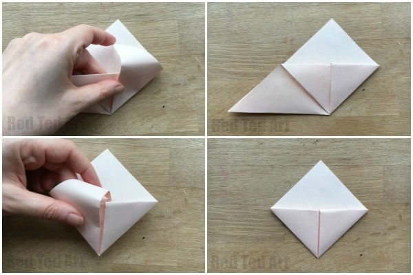 How to Fold a small iambic icosahedron origami star for Christmas ... | 400x600