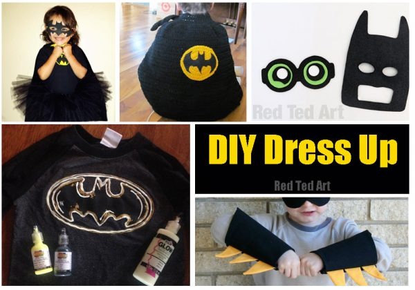 Easy batman diy ideas red ted arts blog batman costume diys easy batman diy solutioingenieria Image collections