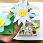 Easy Flower Bookmark Corner