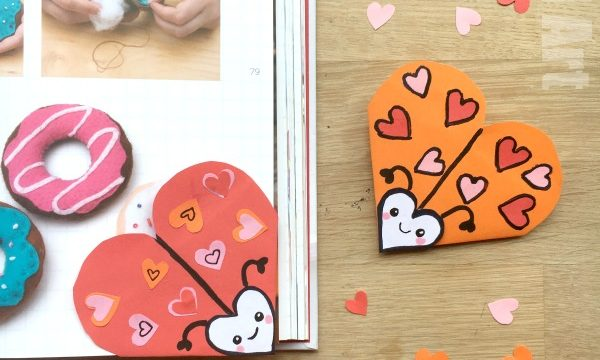 Love Bug Bookmark Designs