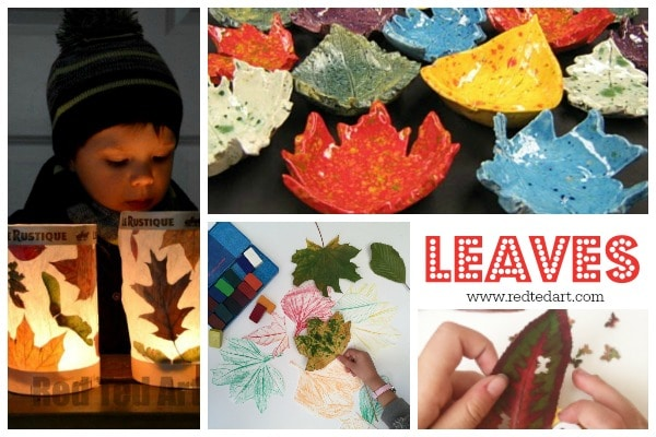 Easy Nature Crafts For Kids Red Ted Art S Blog