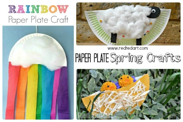 Spring Paper Plate Crafts for Toddlers \u0026 Preschoolers  sc 1 st  Red Ted Art & Easy Spring Crafts for Preschoolers and Toddlers - Red Ted Art\u0027s Blog