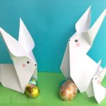 Easy Paper Bunny Origami