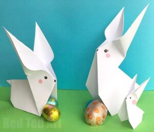 Easy Origami Animals Rabbit