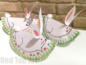 20 cute bunny crafts for kids red ted art s blog
