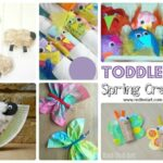 Easy Spring Crafts for Preschoolers and Toddlers