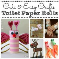 Cute & Easy Toilet Paper Roll Crafts