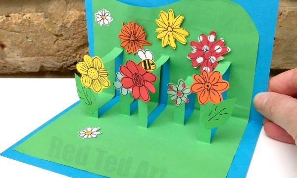 Card making archives red ted art 39 s blog for Pop up birthday cards for mom