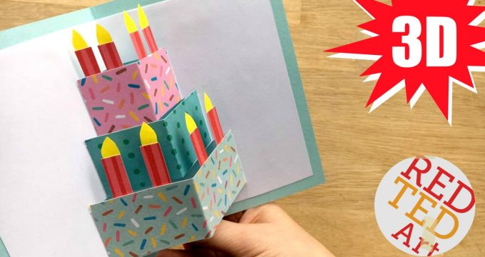 Easy Pop Up Birthday Card DIY