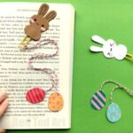 Bunny Bookmark Design for Easter