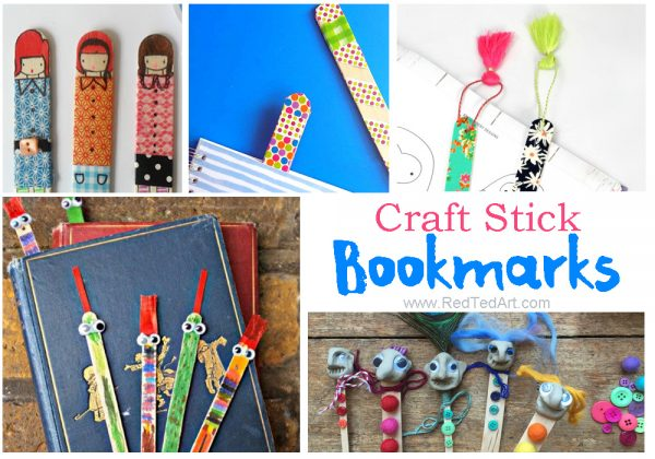 35 Craft Stick Crafts Easy Crafts For Kids Red Ted Art S Blog