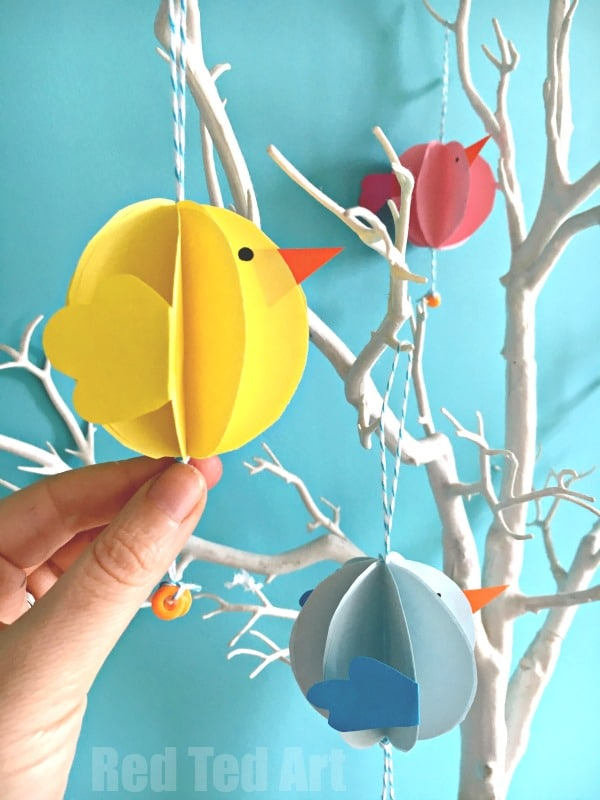 Easy Paper Chick Craft   Chick Easter Decoration   Oh We Do Love A Cute  Chick
