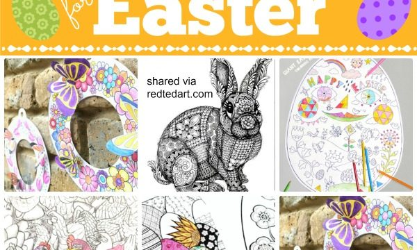 Easter Coloring Pages (free)
