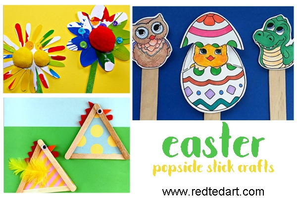 35craft Stick Crafts Easy Crafts For Kids Red Ted Arts Blog