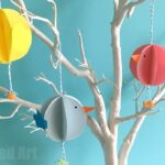 Easy Paper Chick Craft – Chick Easter Decoration