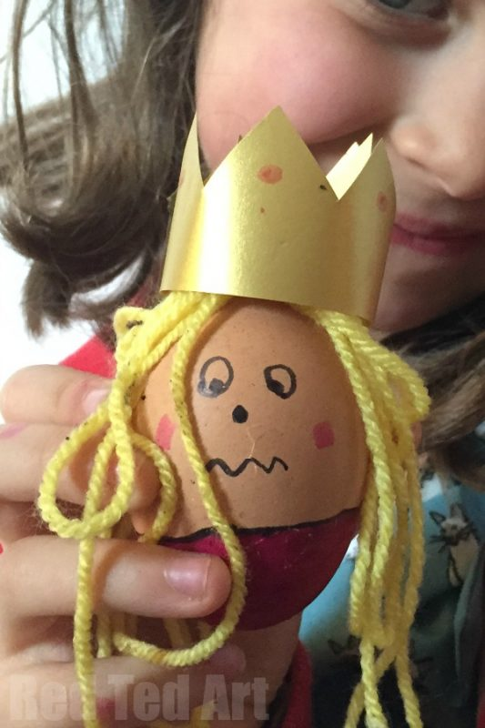 Crowned Egg Person