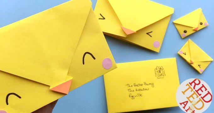 Origami Envelope Chick – Paper Crafts for Kids