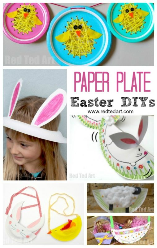 Paper Plate Easter Crafts for Preschool, seriously cute and adorable Spring Paper Plate Crafts for Kids! The kids love paper plate crafting and Easter is yet another great opportunity to get creative with paper plate DIYs!