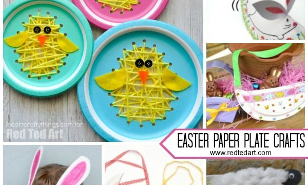 Paper Plate Easter Crafts