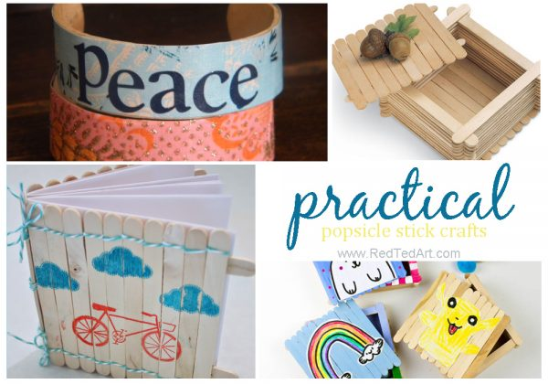 35+Craft Stick Crafts - Easy Crafts for Kids - adore this clever set of varied Craft Stick Crafts - whether you are making lolly stick crafts or popsicle crafts or using shop bought craft sticks.. do take a peak at these fun ideas. Some are great 5 minute crafts, others call for longer sit down craft sessions!