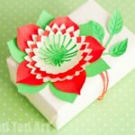 Pretty Paper Flowers DIY including Template