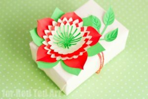 Flower craft ideas wonderful spring summer mothers day ideas continuing on the paper flower theme here is another beautiful paper flower you can make perfect for gift decorations and comes complete with a simple mightylinksfo