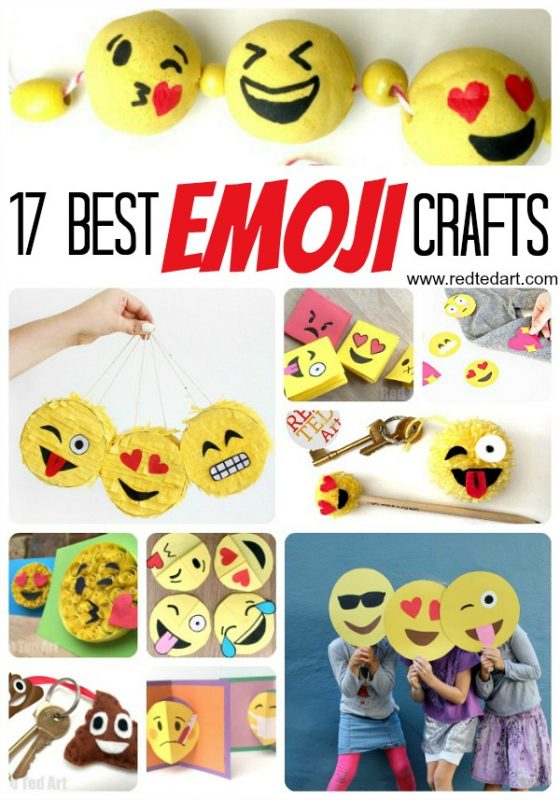 How To Make Paper Squishies Emoji Red Ted Art