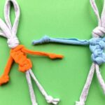 Easy T-Shirt Yarn Bunny – Easter Crafts for Kids