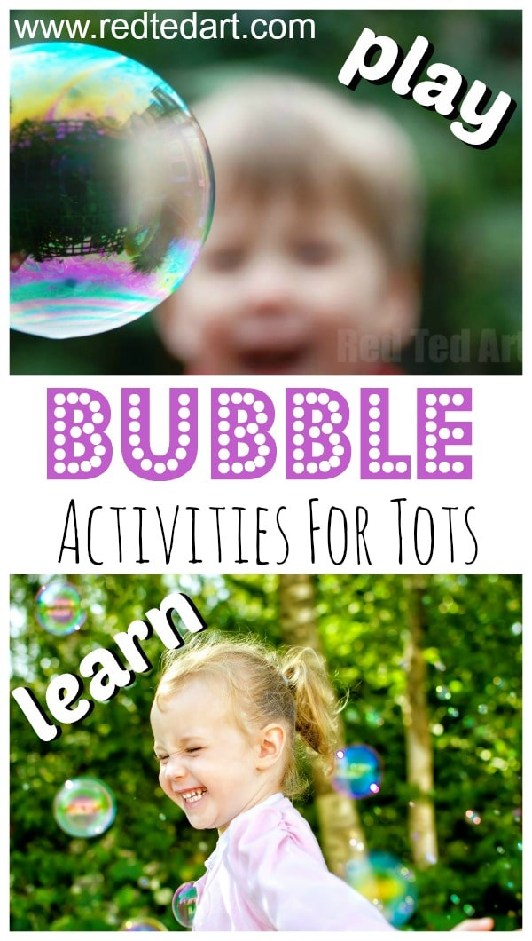 Bubble Activities for Toddlers - bubble themed ideas for infants and toddlers