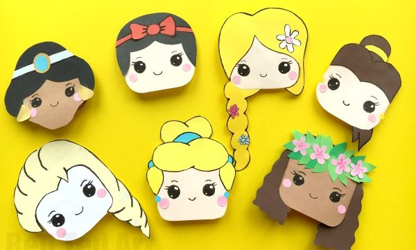 Disney Princess Bookmark Corners
