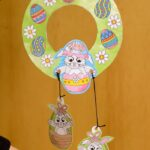 Easter Wreath Coloring Pages