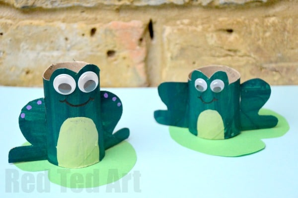 Frog Craft For Toddlers Pinterest