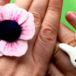 Easy Felt Flower Ring DIY
