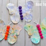 Bubble Art Butterflies