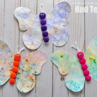 Bubble Art Butterflies