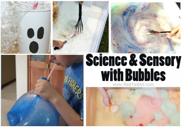 Oh man, who knew that BUBBLES could be so much fun. Make your DIY Bubble Solution, and then have some great Bubble Science Fun, as well as wonderful Bubble Sensory Activities. Love.