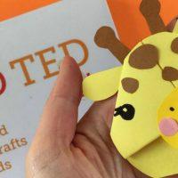 Easy Giraffe Bookmark Corner